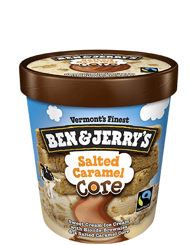 Ben & Jerry's® Salted Caramel Core Ice Cream Sweet Cream
