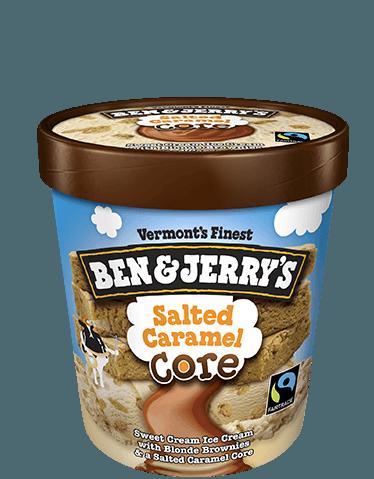 Ben & Jerry's® Salted Caramel Core Ice Cream Sweet Cream
