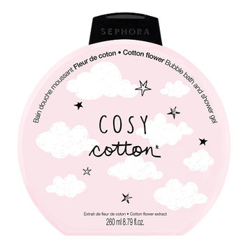 SEPHORA COLLECTION Bubble Bath & Shower Gel Cosy Cotton (Cotton Flower)