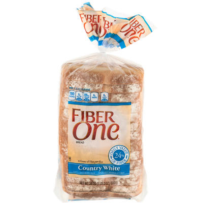 Fiber One Country White Bread