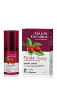 Avalon Organics Wrinkle Therapy With Coq10 & Rosehip Facial Serum