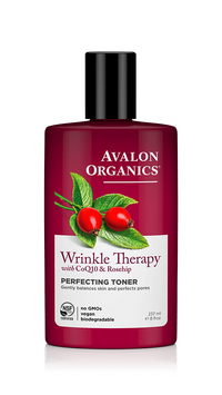 Avalon Organics Wrinkle Therapy With Coq10 & Rosehip Perfecting Toner