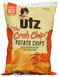 Utz The Crab Chip Potato Chips