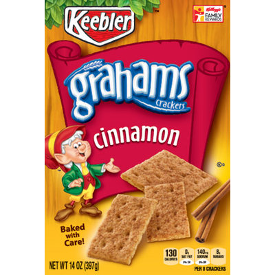Keebler Grahams Crackers Cinnamon