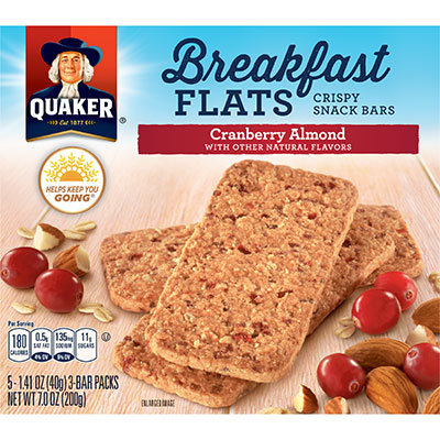 Quaker® Breakfast Flats Cranberry Almond