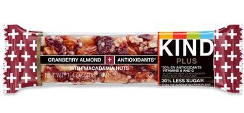KIND® Cranberry Almond + Antioxidants With Macadamia Nuts