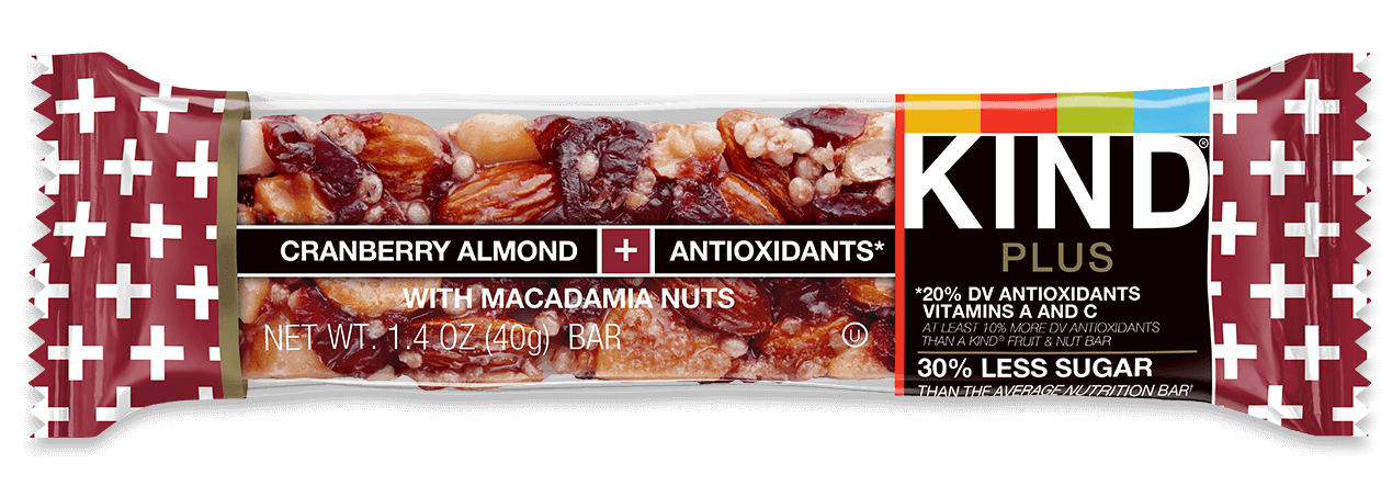 KIND® Cranberry Almond, Antioxidants With Macadamia Nuts