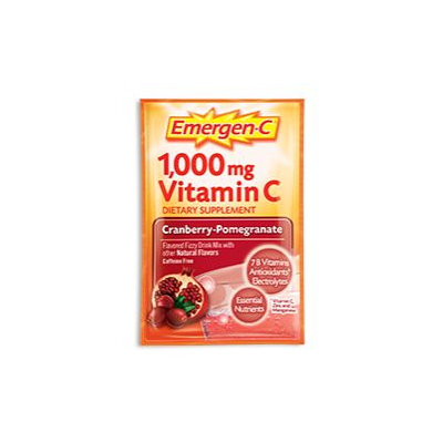 Emergen-C 1,000 mg Vitamin C Cranberry-Pomegranate