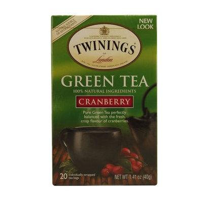 TWININGS® OF London Green Tea Cranberry Tea Bags
