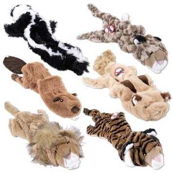 Crazy Critters Stuffing-Free Dog Toys