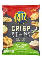 Nabisco RITZ Cream Cheese & Onion Crisp & Thins