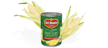 Del Monte® Cream Style Golden Sweet Corn - No Salt Added