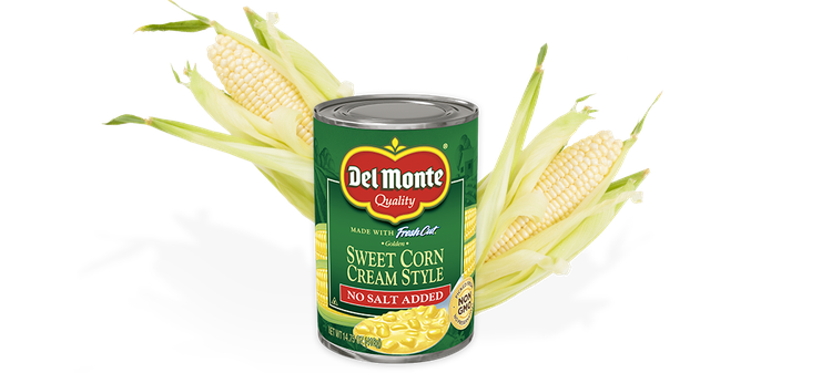 Del Monte® Cream Style Golden Sweet Corn - No Salt Added