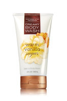 Bath & Body Works Warm Vanilla Sugar Creamy Body Wash