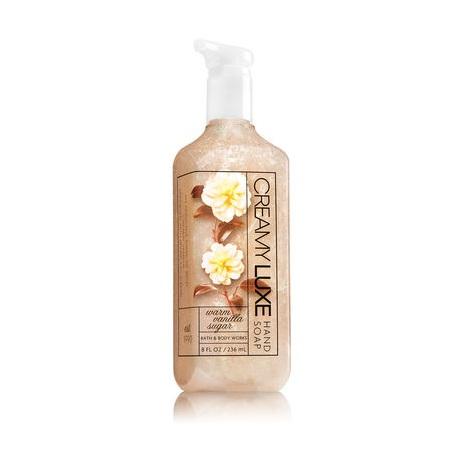 Bath & Body Works® WARM VANILLA SUGAR Creamy Luxe Hand Soap