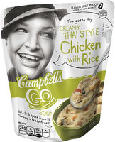 Campbell's® Creamy Thai Style Chicken with Rice Soup