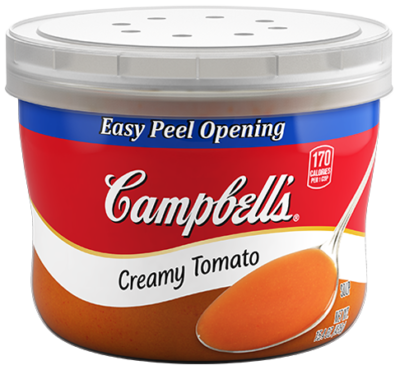 Campbell's® Campbell's® Creamy Tomato Soup Microwavable Bowl