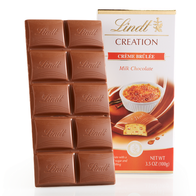 Lindt Creme Brulee Creation Bar