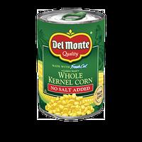 Del Monte Golden Sweet Whole Kernel Corn - No Salt Added