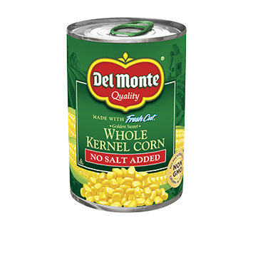 Del Monte Golden Sweet Whole Kernel Corn - No Salt Added