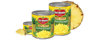Del Monte® Crushed Pineapple in 100% Juice