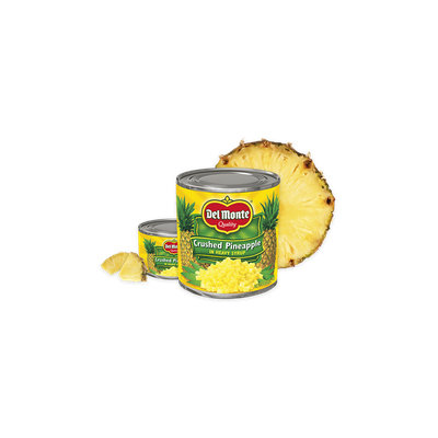 Del Monte® Crushed Pineapple in Heavy Syrup