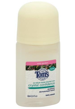 Tom's OF MAINE Crystal Confidence Deodorant Roll-On Wild Garden