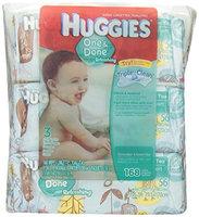 Huggies® One & Done Refreshing Cucumber & Green Tea Baby Wipes