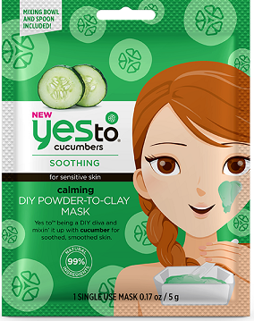 Yes To Cucumbers Calming DIY Powder to Clay Mask