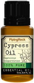 Piping Rock Cypress Essential Oil 1/2 oz 100% Pure Oil Therapeutic Grade