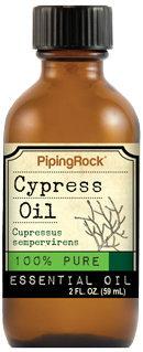 Piping Rock Cypress Essential Oil 2 fl oz 100% Pure Oil Therapeutic Grade