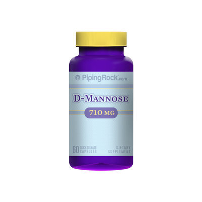 Piping Rock D-Mannose 710mg 60 Capsules