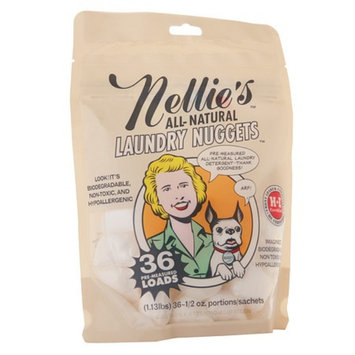 Nellie's All Natural Laundry Nuggets in a Pouch