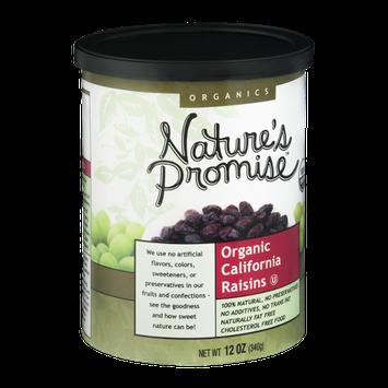 Nature's Promise Organics California Raisins Organic