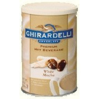 Ghirardelli Premium White Mocha Beverage Mix, 19 oz.