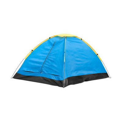 Happy Kids Happy Camper Two Person Tent with Carry Bag - Blue
