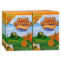 Funley's Delicious Super Crackers Superfood Crackers 6 Packets 6 Pack