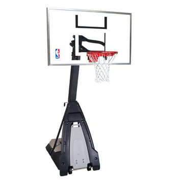 Basketball Goals (74560) Beast Portable Residential Basketball Backstop from Spalding