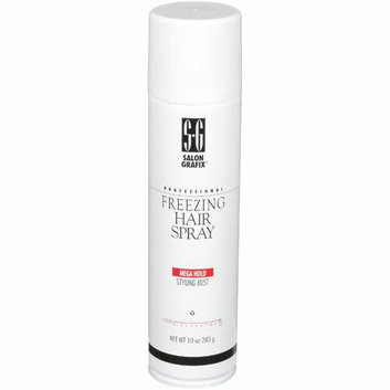 Salon Grafix Professional Freezing Mega Hold Styling Mist Hold 10 Hair Spray