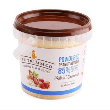 PB Trimmed Powdered Peanut Butter (Salted Caramel, 6.5 Oz)
