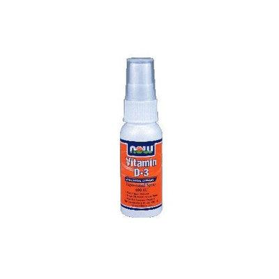 Now Foods Vitamin D-3 400 Iu, Liposomal Spray, 2-Ounces