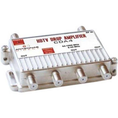 Antennas Direct ADICDA4S Antennas Direct CDA4 4-Way Output TV-CATV Distribution Amplifier