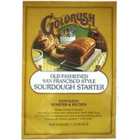 Gold Rush Products Gold Rush Old Fashioned San Francisco Style Sourdough Bread Starter, 0.5 Ounce Packets