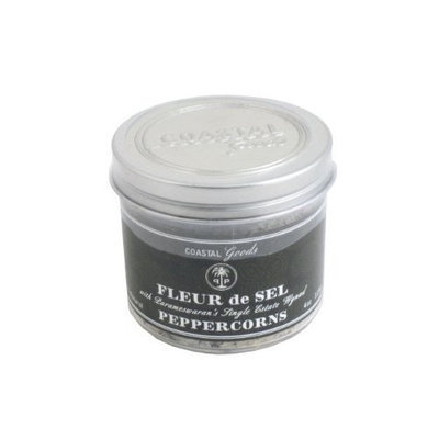 Coastal Goods Carmargue Fleur de Sel with Parameswaran Peppercorns