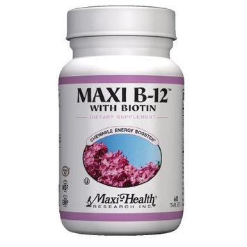 Maxi B12 with Biotin, 60-Count
