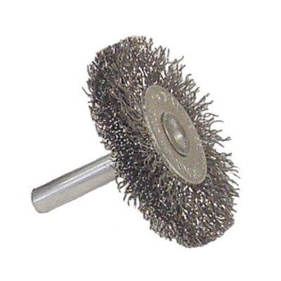 Radnor Fine Wire Utility Wheel Brush With 1/4