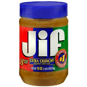 Jif Extra Crunchy Peanut Butter Spread