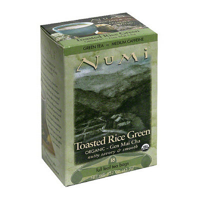 Numi Toasted Rice Green Tea