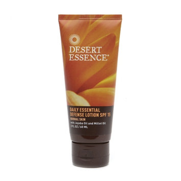 Desert Essence Daily Essential Defense Lotion SPF 15