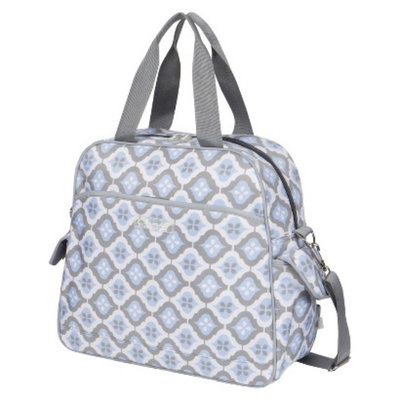 The Bumble Collection Brittany Backpack Diaper Bag - Sky Blue